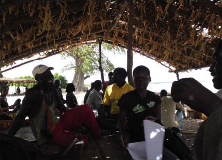 Viviane Koutob, Focus group with fishers of Missirah (a village near the MPA of Bamboung) July, 2014